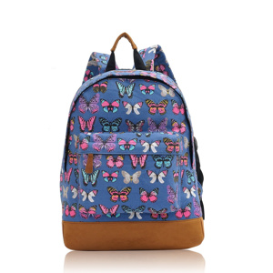 40a83272493 Batoh Butterfly Dream – modrá